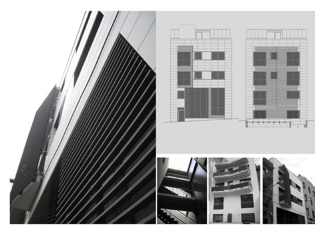Proyecto Bas,Ejec de Edificio Plurifamiliar Entre Medianeras