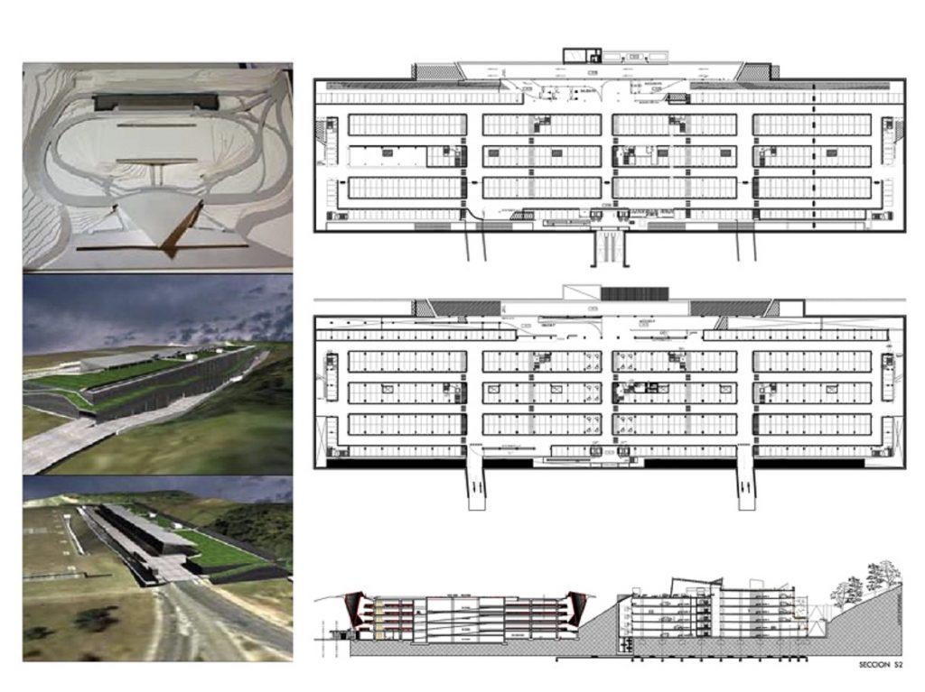 Proyecto Bas,Ejec de Nuevo Aparcamiento en el Aeropuerto de Bilbao