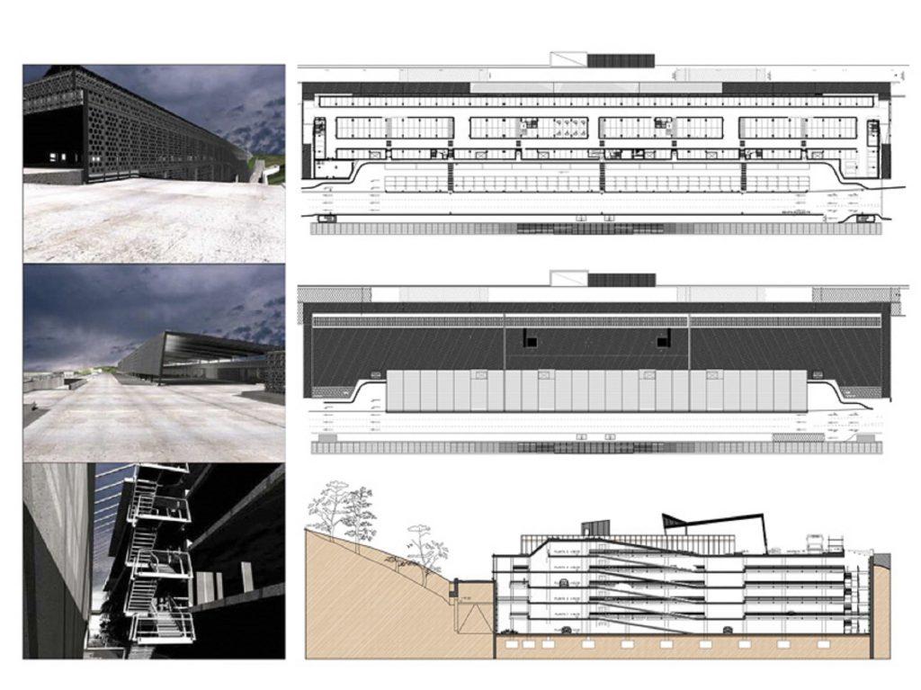 Proyecto Bas,Ejec de Nuevo Aparcamiento en el Aeropuerto de Bilbao 2